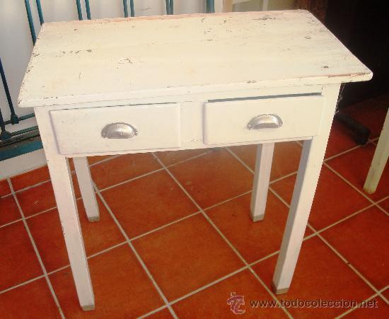 Mesa de cocina rustica antigua para restaurar comprar for Mesas antiguas de madera