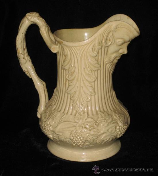 Bella y antigua jarra victoriana en cer mica co comprar - Porcelana inglesa antigua ...