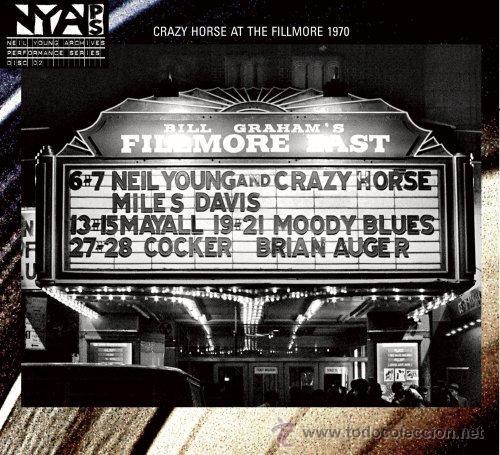 LP NEIL YOUNG & CRAZY HORSE LIVE AT FILLMORE EAST 1970 VINILO 180G (Música - Discos - LP Vinilo - Pop - Rock Extranjero de los 50 y 60)