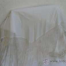Antigüedades: PAÑUELO BLANCO. Lote 28211126