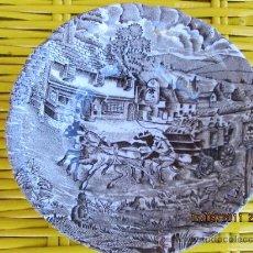 Antigüedades: ANTIGUO PLATO DE PONTESA 14X5 CMS. Lote 28241664