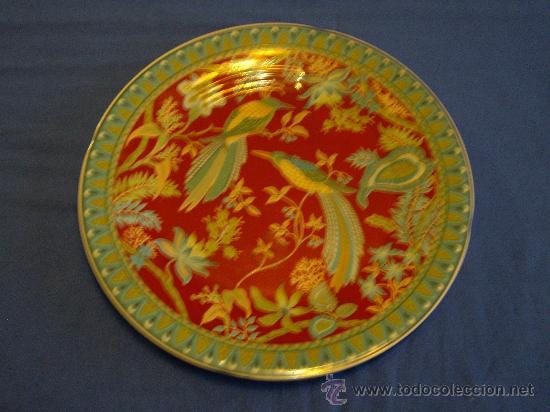 PLATO DE PORCELANA JAPONESA (Antigüedades - Porcelana y Cerámica - Japón)