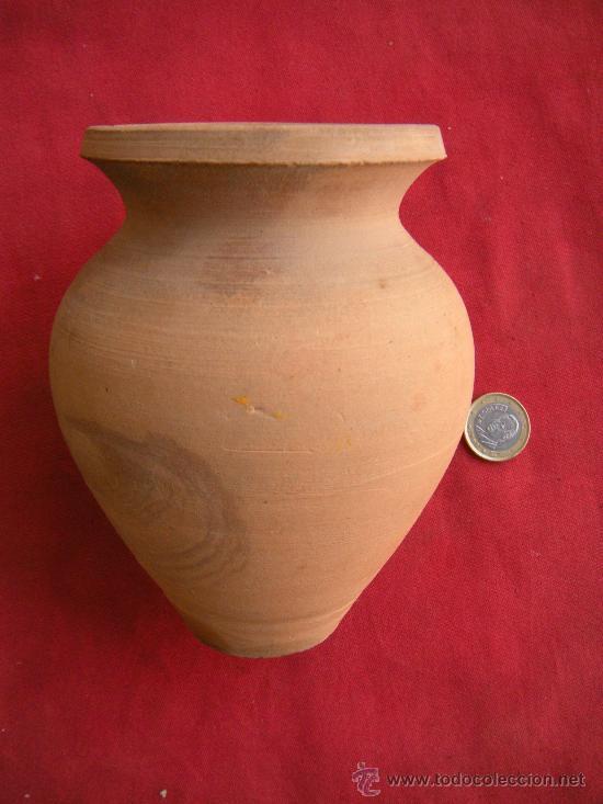 PEQUEÑA TINAJA DE BARRO (Antigüedades - Porcelanas y Cerámicas - Otras)