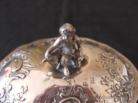 Antigüedades: Cofre de plata s.XVIII ,Francés - Foto 8 - 28264426