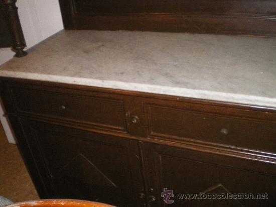 Armario Metalico Barato ~ aparador de cocina con marmol año 1910 Comprar Aparadores Antiguos en todocoleccion 41698588