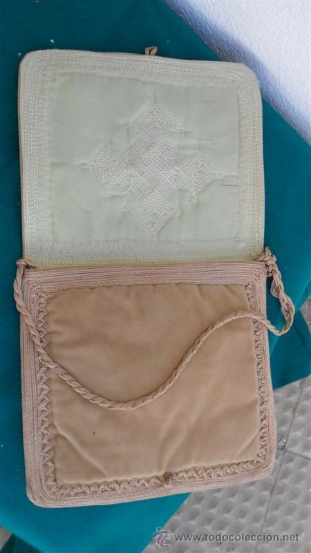 Antigüedades: 3 bolsos hecho a mano - Foto 2 - 28269740