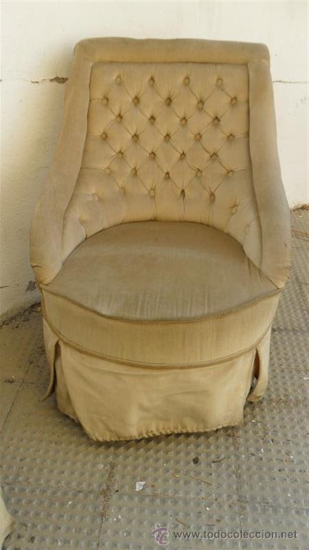 Antigüedades: pareja de sillones de dormitorio - Foto 2 - 28277021