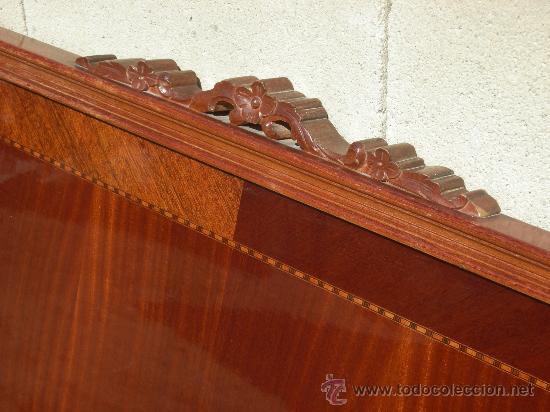Antigüedades: CABECERO CON MARQUETERIA - Foto 6 - 28321950