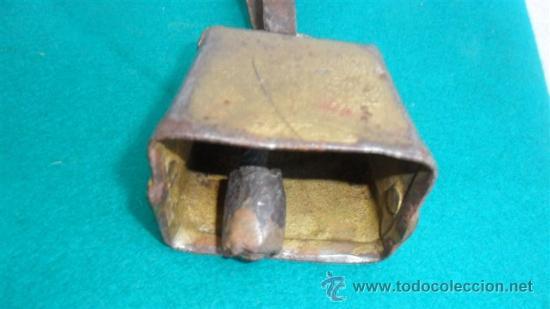 Antigüedades: cencerro cuadrado - Foto 2 - 28333176