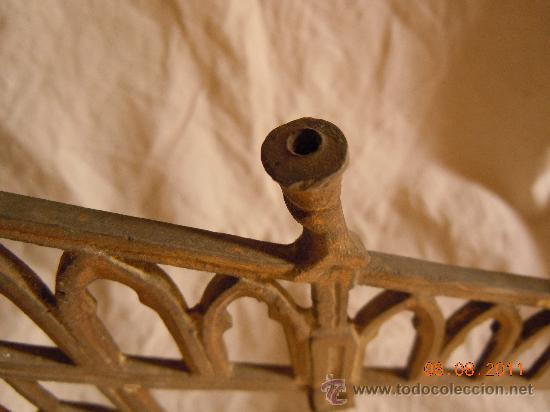 Antigüedades: CANDELABRO DE BRONCE 5 VELAS FINALES XIX - Foto 2 - 28375968