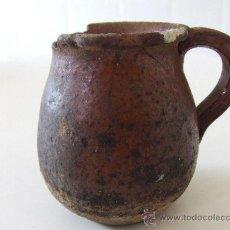 Antigüedades: CERMICA POPULAR ANTIGA CATALANA.S. XIX. VIDRIADA.PETIT TUPI.LLEIDA. . Lote 28400377