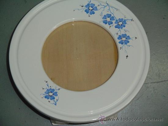 marco circular en porcelana, tamaño medio. - Comprar Botijos, jarras ...