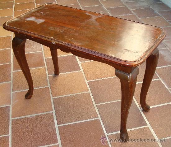 Mesita auxiliar antigua para restaurar comprar mesas for Antiguedades para restaurar