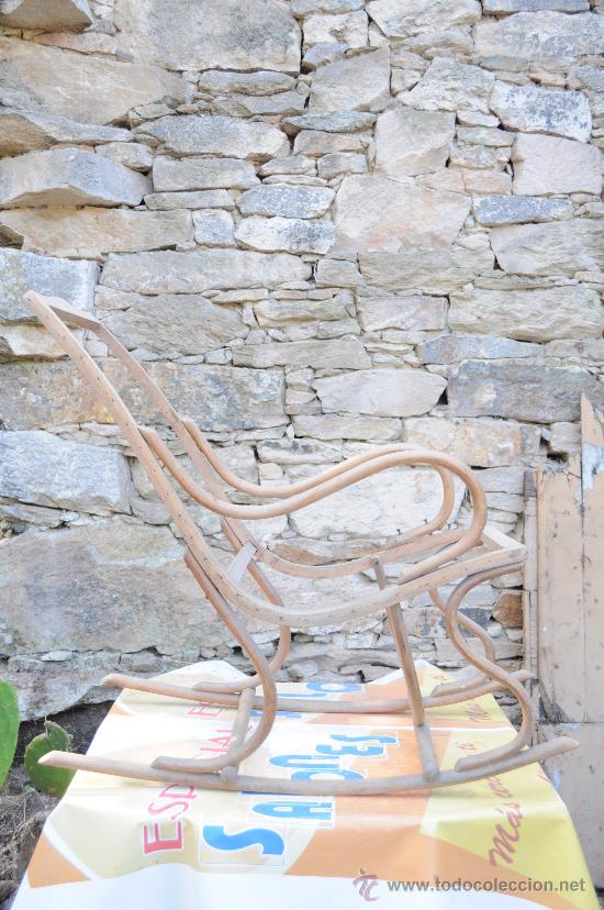 MECEDORA TIPO THONET (Antigüedades - Muebles Antiguos - Sillones Antiguos)