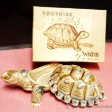 Antigüedades: TORTUGA CERAMICA - FAB. WADE / INGLATERRA - CAPARAZON SUELTO - CON CAJA ORIGINAL - SIN ESTRENAR S/N. Lote 28513627