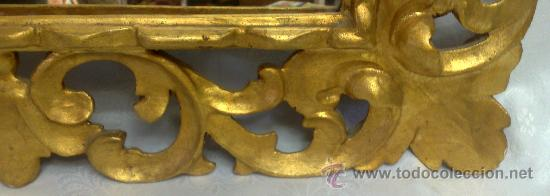 Antigüedades: MARCO CON ESPEJO, SIGLO XIX - Foto 6 - 28524963