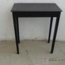 Antigüedades: ,MESA VELADOR RECTANGULAR. Lote 28533708