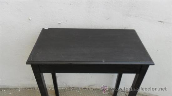 Antigüedades: ,mesa velador rectangular - Foto 2 - 28533708