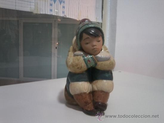Antigüedades: PRECIOSO ESQUIMAL DE YADRÓ - Foto 2 - 28633333