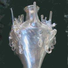 Antigüedades: ALMORRAJA DE VIDRIO CATALAN. Lote 28543300