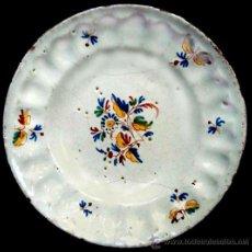 Antigüedades: PLATO DE CERAMICA DE ALCORA. Lote 28560452