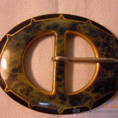 Antigüedades: HEBILLA ART DECO PLASTICO. Lote 28561467