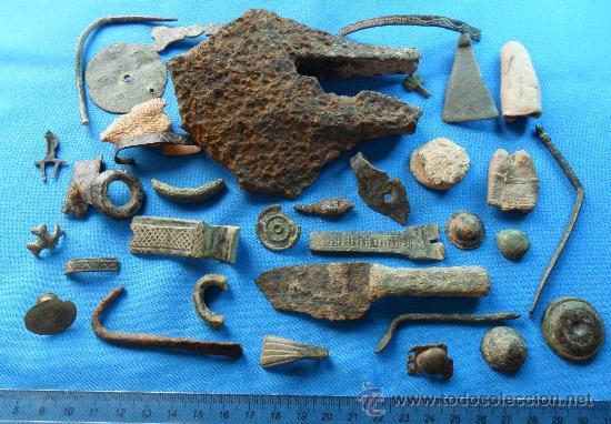 Lote de antiguos objetos romanos comprar caballer a for Compra de objetos antiguos