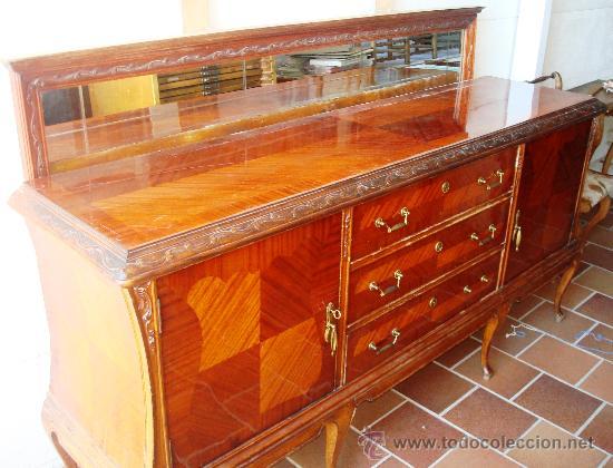 Liquidacion aparador y vitrina de comprar - Restaurar muebles chapados ...