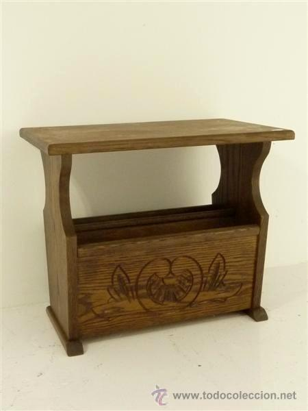 Antigüedades: mesa revistero - Foto 2 - 28592935