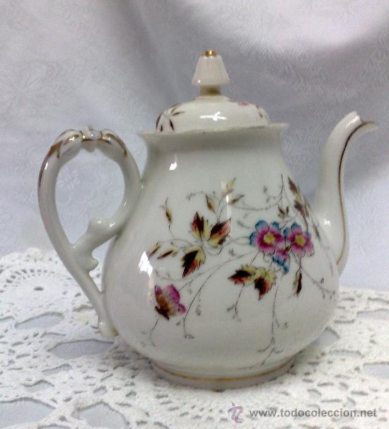 Tetera en porcelana de limoges francia y marc comprar for Marcas de porcelana