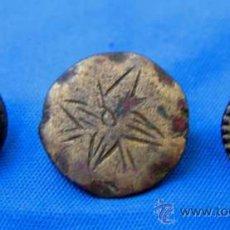 Antigüedades: BOTONES ESPAÑOLES SIGLOS XVIII - XIX. Lote 28609927