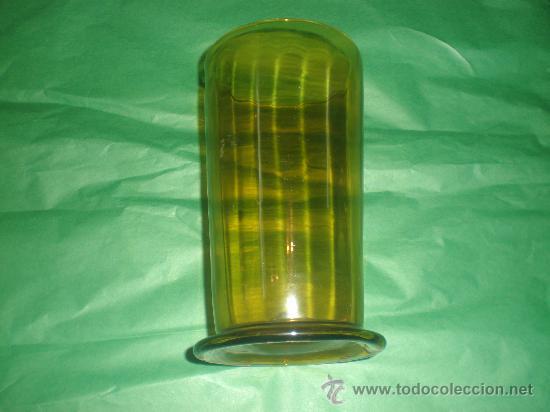VASO DE VIDRIO DE GUARDIOLA (Antigüedades - Cristal y Vidrio - Otros)