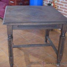Antigüedades: MESA DE MADERA. Lote 28617859