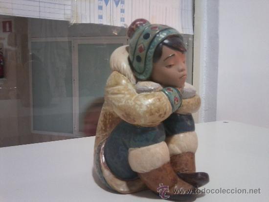 PRECIOSO ESQUIMAL DE YADRÓ (Antigüedades - Porcelanas y Cerámicas - Otras)