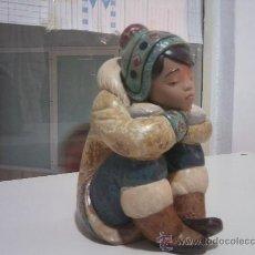 Antigüedades: PRECIOSO ESQUIMAL DE YADRÓ. Lote 28633333