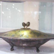 Antigüedades: CENTRO DE MESA CON TAPA. Lote 28652843