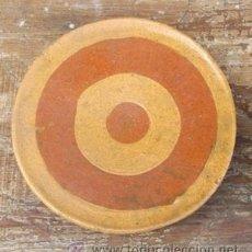 Antigüedades: PLATO PARA DAR VUELTA A LA TORTILLA . ANTIGUO. BUÑO. GALICIA.. Lote 70650558