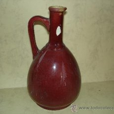 Antigüedades: BOTELLA O JARRA DE BOCA ANGOSTA. Lote 28690387