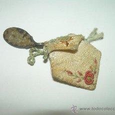 Antigüedades: ANTIGUO Y BONITO ESCAPULARIO......CON MEDALLA DE PLATA.. Lote 28714384