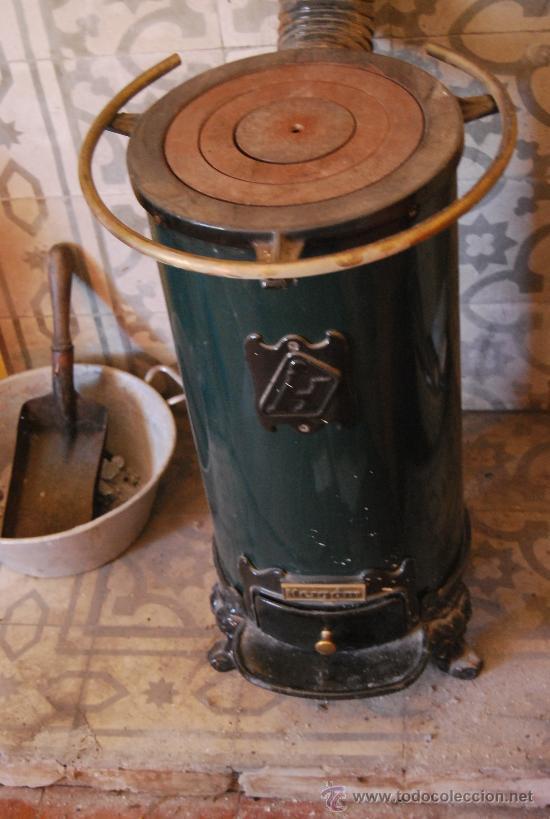 Estufa de le a hierro fundido y material refrac comprar - Estufas de lena economicas ...