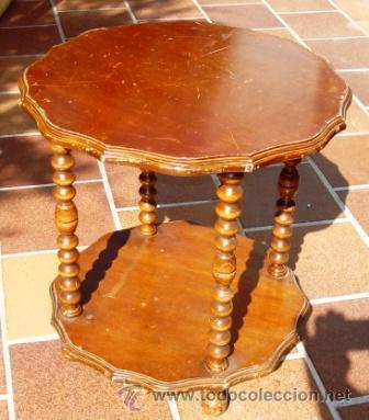 Mesa auxiliar antigua para restaurar comprar mesas - Mesas auxiliares antiguas ...