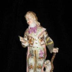 Antigüedades: EXCELENTE FIGURA DE PORCELANA ALEMANA SITZENDORF SELLADA Y NUMERADA. Lote 28723652