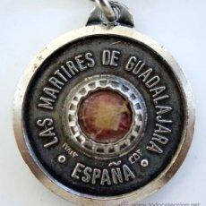 Antigüedades: RELICARIO - LAS MÁRTIRES DE GUADALAJARA - 1936 - GUERRA CIVÍL ESPAÑOLA. Lote 28730199