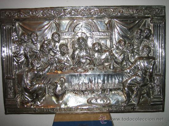SANTA CENA AÑOS 20 (Antigüedades - Religiosas - Varios)