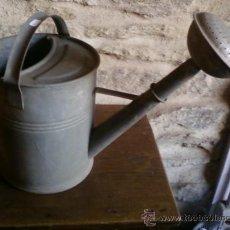 Antigüedades: REGADERA DE ZINC. Lote 28750150
