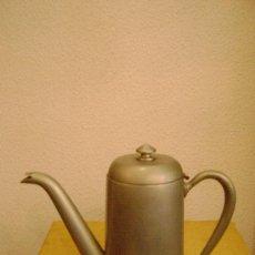 Antigüedades: CAFETERA DE ALPACA. Lote 28788481