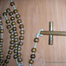 Antigüedades: ROSARIO DE MADERA DECORATIVO. Lote 28800416