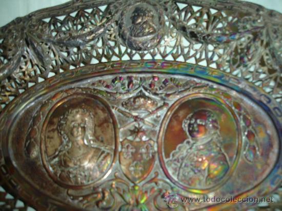 Antigüedades: BANDEJA TALLADO MUY ANTIGUA - Foto 2 - 28837118