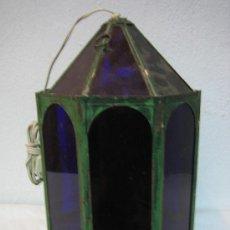 Antigüedades: LAMPARA DE COLGAR. Lote 28862708