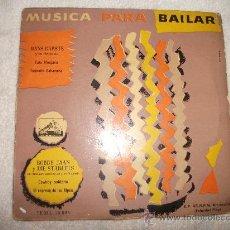 Discos de vinilo: HANS GARSTE Y SU ORQUESTA /BOBBY JAAN Y DIE STARLETS/LA VOZ DE SU AMO. Lote 140271008